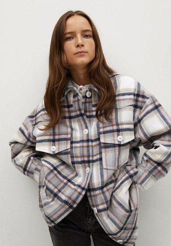 CACAO - Button-down blouse - écru
