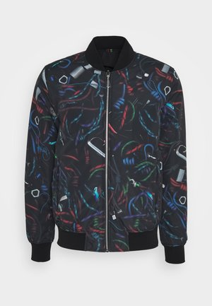 MENS REVERSIBLE - Kurtka Bomber - black