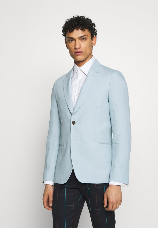 GENTS TAILORED FIT JACKET - Blazer - light blue