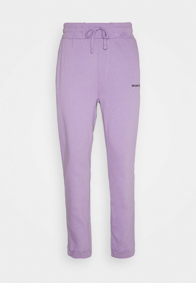 YOURTURN - Tracksuit bottoms - lilac