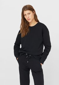 Stradivarius - SET - Tracksuit - black - 1