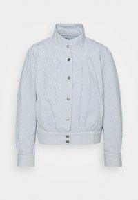 Dedicated - JACKET JUNGBY THIN STRIPE - Summer jacket - blue - 4