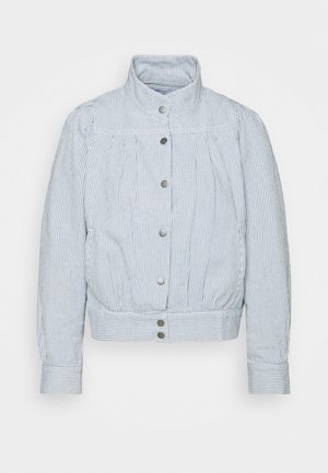 JACKET JUNGBY THIN STRIPE - Summer jacket - blue