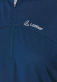 LÖFFLER - BIKE SHIRT ALPHA 3.0 - T-shirt imprimé - deep water - 2