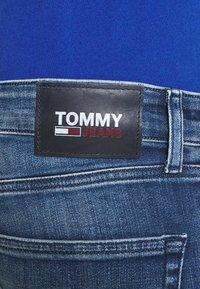 Tommy Jeans - SCANTON SLIM - Džíny Slim Fit - dynamic jacob mid blue stretch - 4