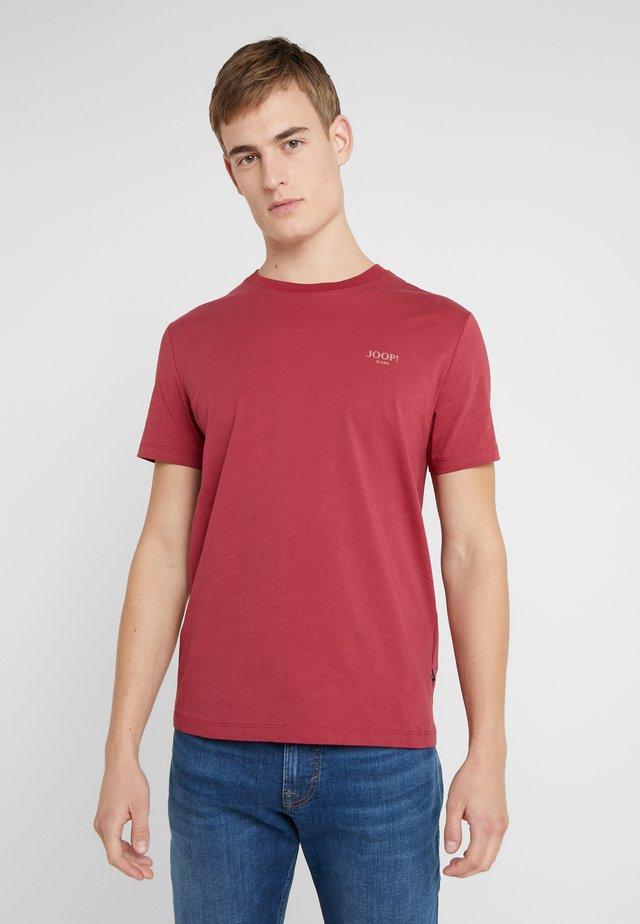 ALPHIS  - T-shirt basic - bordeaux