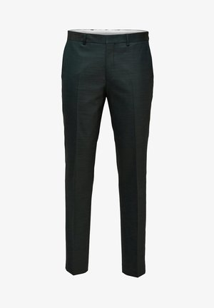 SLIM FIT - Suit trousers - dark green