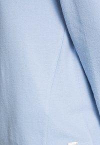 TOM TAILOR DENIM - BRUSHED  HOODIE - Jumper - bel air blue - 4