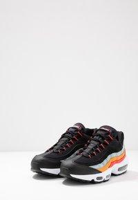 Nike Sportswear - AIR MAX - Trainers - black/white/ocean cube/kumquat/red orbit - 2