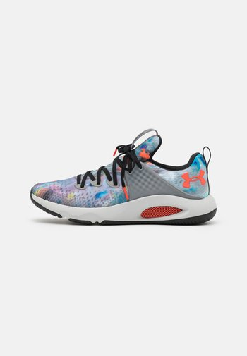 HOVR RISE 3 PRINT - Sports shoes - grey