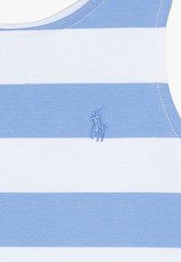 Polo Ralph Lauren - PONTE - Žerzejové šaty - harbor island blue/white - 3