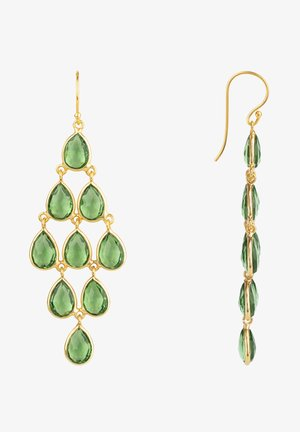 Earrings - vert