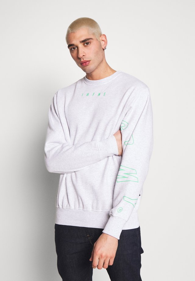 UNISEX  ROPE A DOPE CREWNECK - Sweatshirt - sport grey