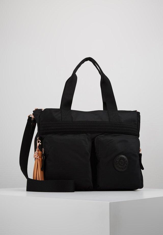 ESIANA - Tote bag - rose/black