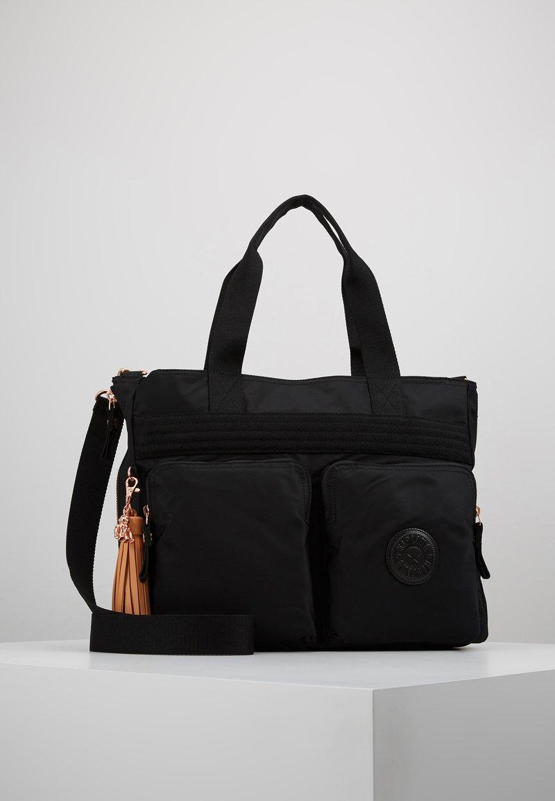 Kipling - ESIANA - Tote bag - rose/black