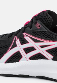 ASICS - GEL CONTEND 7 - Neutral running shoes - black/hot pink - 5
