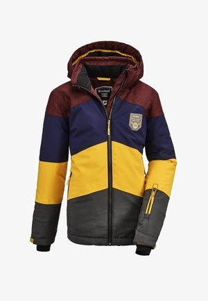 Winter jacket - multi-coloured