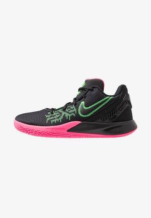 KYRIE FLYTRAP II - Basketball shoes - black/hyper pink/rage green