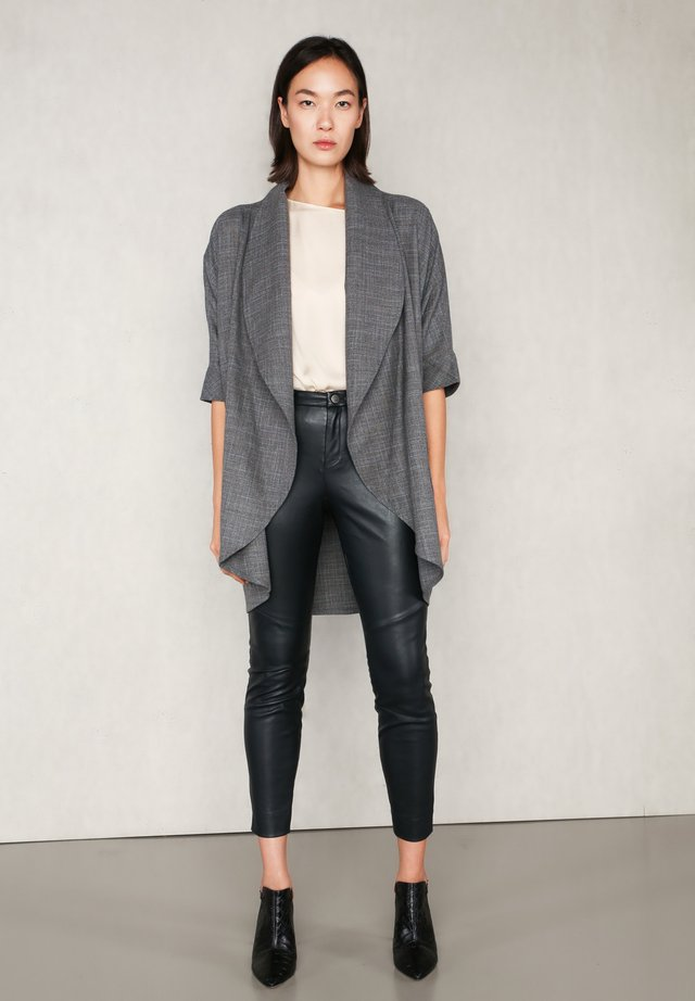 Summer jacket - grey meliert