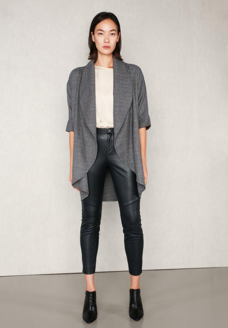 jeeij - Summer jacket - grey meliert