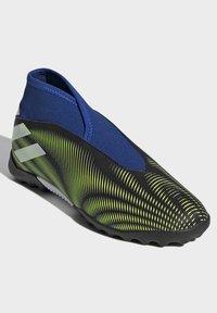 adidas Performance - NEMEZIZ.3 LACELESS TF FUSSBALLSCHUH - Astro turf trainers - black - 1