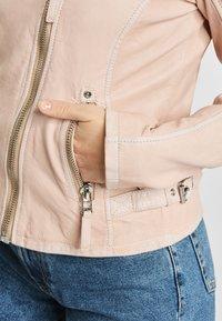Gipsy - PGG LABAGV - Leather jacket - pink - 4