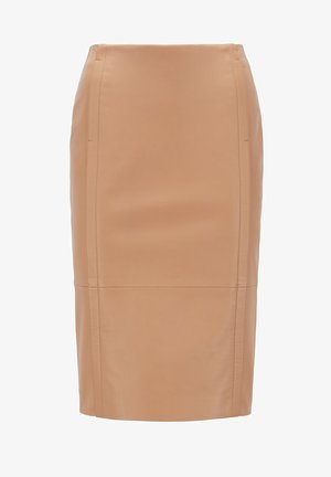 SEPASSA - Pencil skirt - light brown