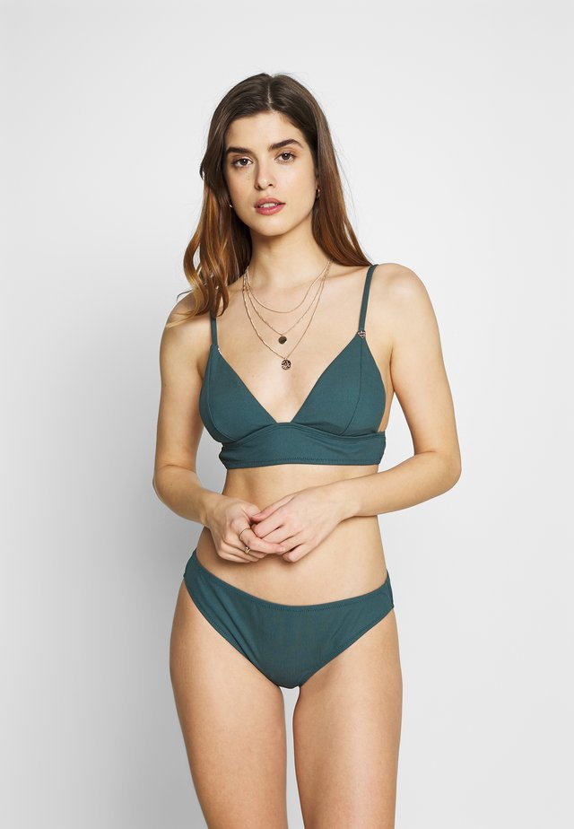 ADELINE WOMEN BASIC - Bikiny - fuel green