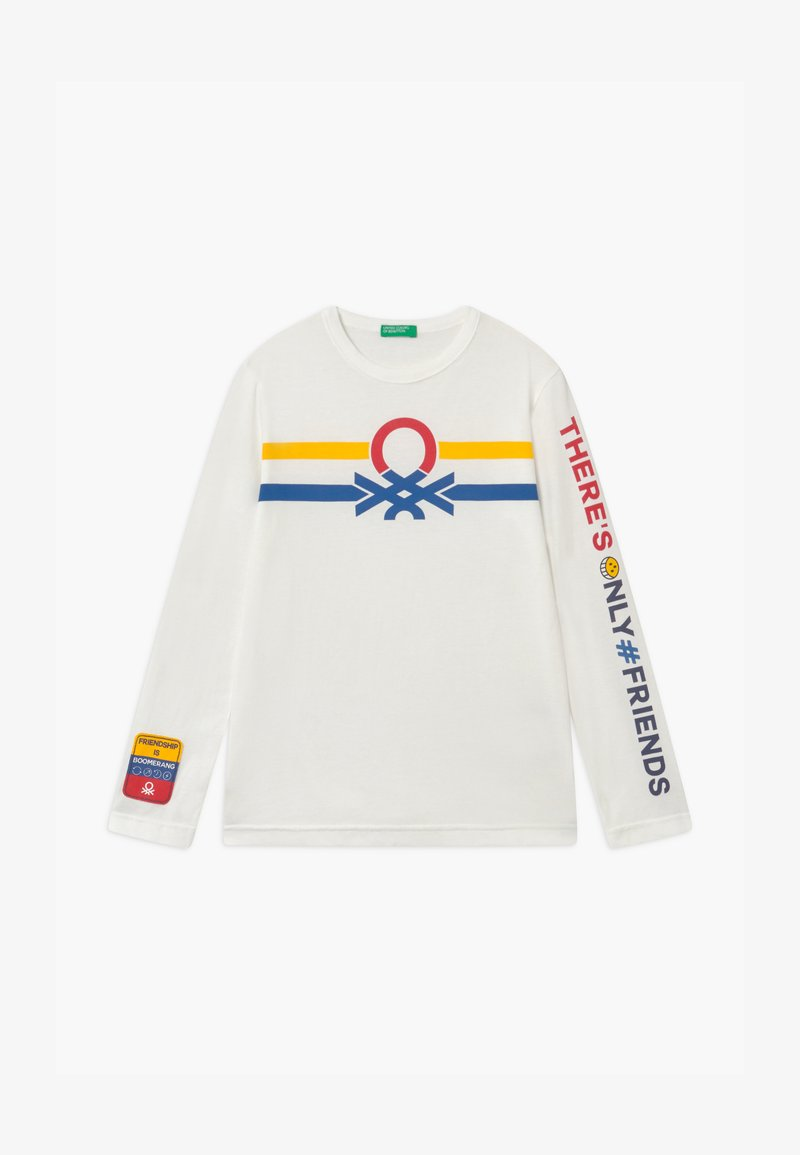 Benetton - ONLINE BOY - Longsleeve - white