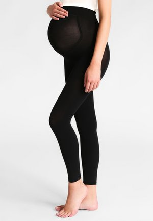 FALKE 9 MONTHS 80 DENIER LEGGINGS BLICKDICHT MATT - Leggings - Stockings - black