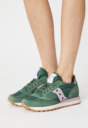 JAZZ ORIGINAL - Matalavartiset tennarit - green/pink