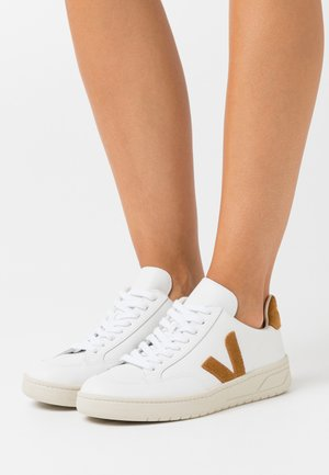 V-12 - Sneakers laag - extra white/camel