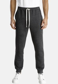 Jan Vanderstorm - EMORY - Tracksuit bottoms - dark grey melange - 0