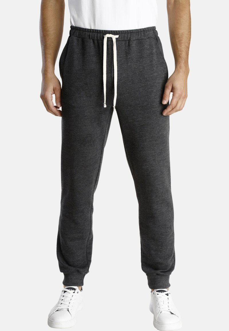 Jan Vanderstorm - EMORY - Tracksuit bottoms - dark grey melange