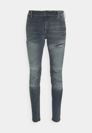 RACKAM 3D SKINNY - Skinny džíny - worn in smokey night