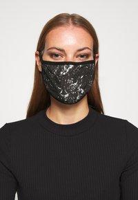 Icon Brand - PATTERNED COMMUNITY MASK - Community mask - black - 0