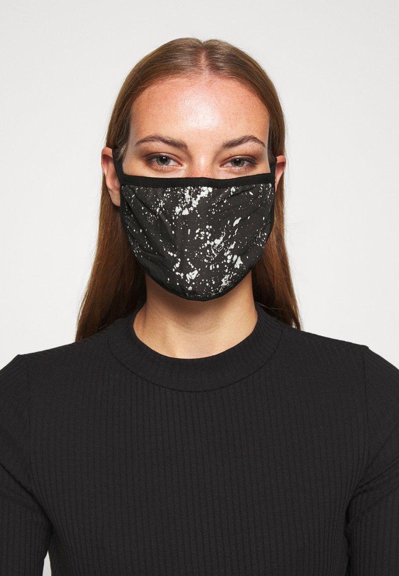 Icon Brand - PATTERNED COMMUNITY MASK - Community mask - black