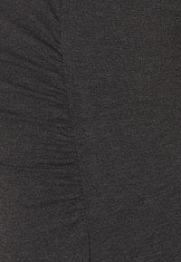 Anna Field MAMA - 3ER PACK  - Topper - black/white/dark grey - 5