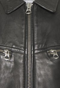 Pepe Jeans - BOB - Leather jacket - black - 2