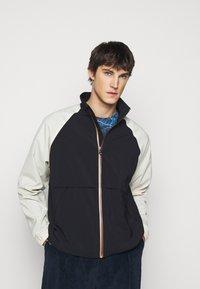 Paul Smith - GENTS ZIP CASUAL JACKET - Summer jacket - black/beige - 0