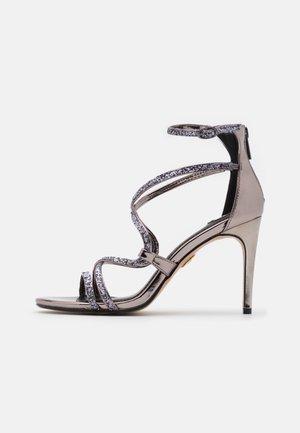 MERCY - Sandály na vysokém podpatku - pewter