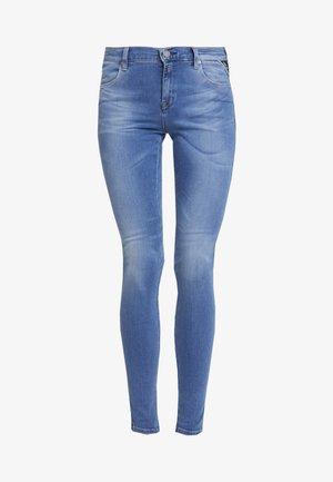 Skinny-Farkut - light blue