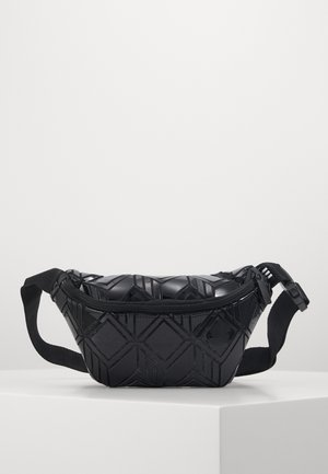 WAISTBAG §D - Ledvinka - black
