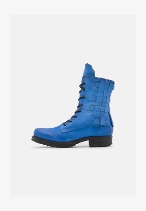 Biker-/cowboynilkkurit - blue
