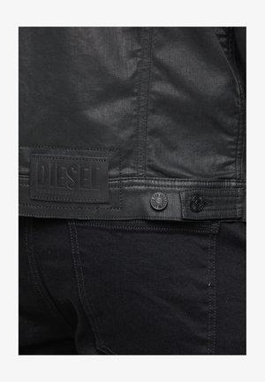 NHILL TW - Denim jacket - black