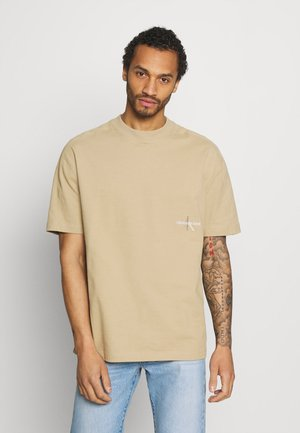 ICONIC TEE UNISEX - T-shirt con stampa - tan