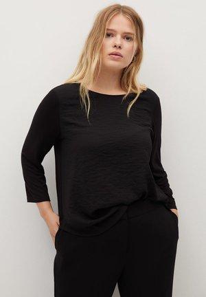 NACHO - Long sleeved top - black