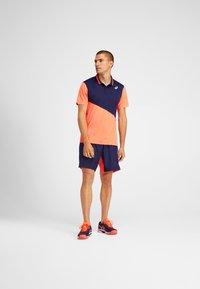 ASICS - Polo shirt - peacoat/flash coral - 1