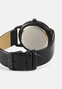 Zign - UHR CARD HOLDER /VISITENKARTENETUI GESCHENK SET /GIFT SET - Watch - black - 1