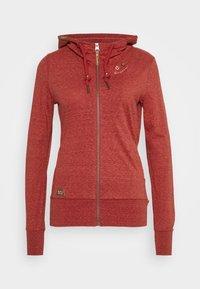 Ragwear - PAYA - Zip-up sweatshirt - red - 6